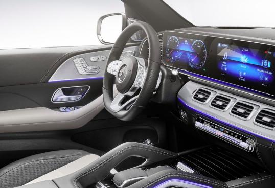Mercedes Benz GLE SUV information lige her